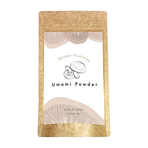 Umami Keystone Powder, Magic Shiitake Mushroom Seasoning, Fine Powder Depth in Flavor Excellent Addition, No MSG, Made in Japan, 3.5oz