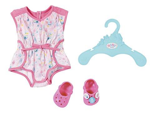 Zapf Creation 824634 BABY born Pyjama mit Clogs Puppenkleidung 43 cm