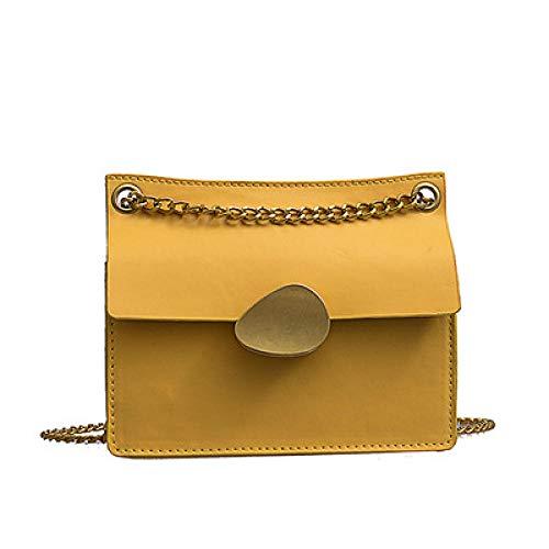 Unbekannt Damen Rucksäckedamen-Rucksackhandtaschentasche Ringverschluss Schnalle Tasche Volltonfarbe Rucksack Candy-Color-Paket