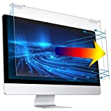 Upgrade 23-24 inch(Diagonal)Paste-Free Hanging Blue Light Blocking Screen Protector, Scratch Resistance Blue Light Filters Panel for 16:9 Computer PC LED Monitor, Anti-UV & Anti-Radiation Screen Panel