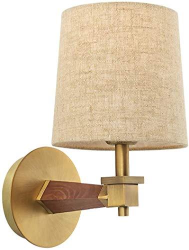 Luces de pared industriales, Metal moderno de la lámpara de pared de madera E27 decorativo de pared de luz Lámparas de pared Iluminación en la alcoba cama cortina de lámpara de la lámpara blanca de la