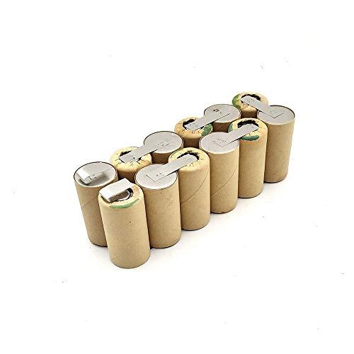 Seilylanka 3000mAh para CLEAR STONE 14.4V Ni MH Batería aspiradora de CD M-488 Vileda M-488A A110601160 para autoinstalación