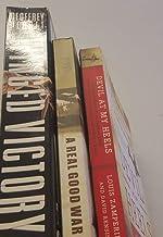 3 Volume of WWII AirPlane Books- #1 Perret's Winged Victory; #2 Halpert'sA Real Good War; #3 Zamperini's Devil at my Heels;