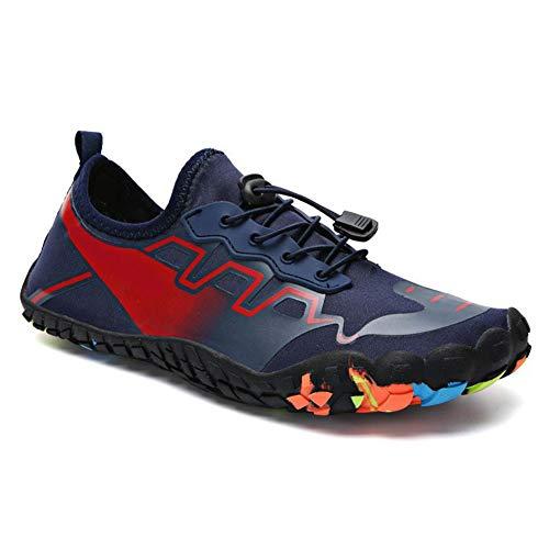 laoonl Zapatos de deportes acuáticos de playa, natación, buceo, surf, yoga, deportes de secado rápido, piscina, zapatos de playa