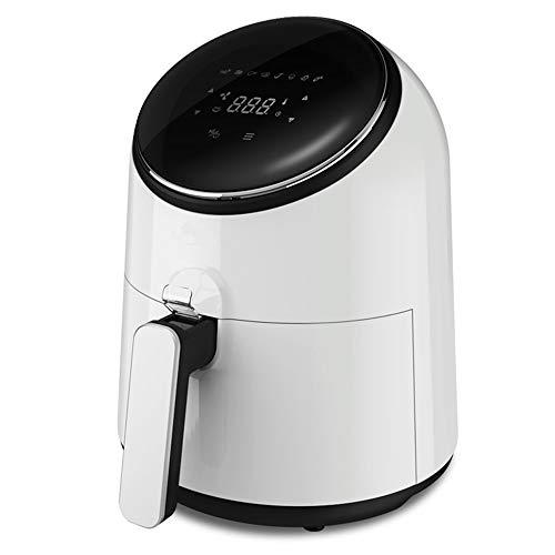 Freidora de aire, freidora eléctrica multifunción de toque inteligente para el hogar, con un solo botón, freidora con control de aire, puede hornearse con papas fritas, capacidad de 3.6L.