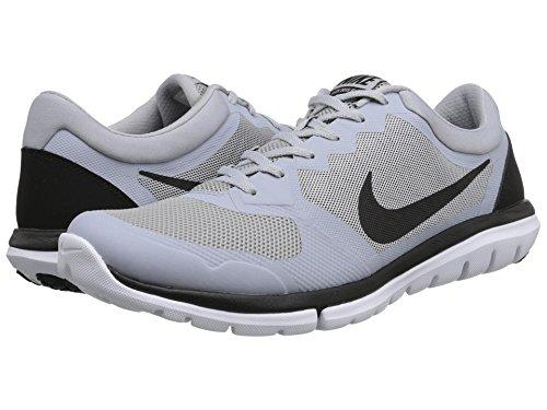 Nike Herren Flex 2015 RN Laufschuhe, Grau/Schwarz/Weiß (Wolf Grey/Black-White), 40 1/2 EU