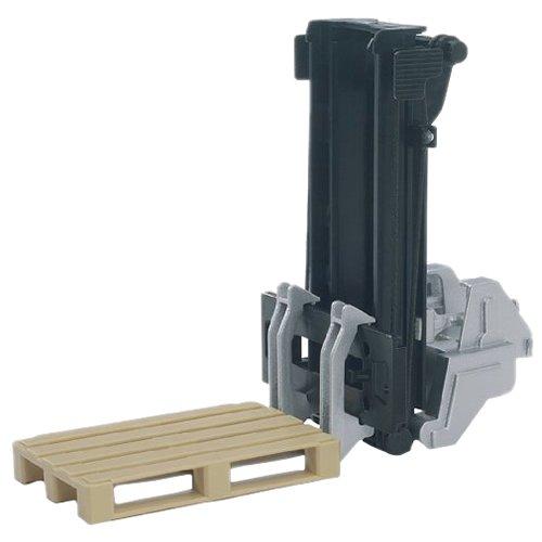 bruder 02337 - Zubehör: Anbaustapler mit 2 Paletten