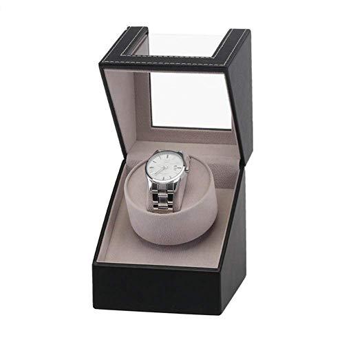 GUOOK Luxusuhren Automatik Uhrenbeweger Display Leder Aufbewahrung Deluxe Silent Motor Klavierlack Glanz Rotation Uhr Luxury-15 * 13 * 25CM