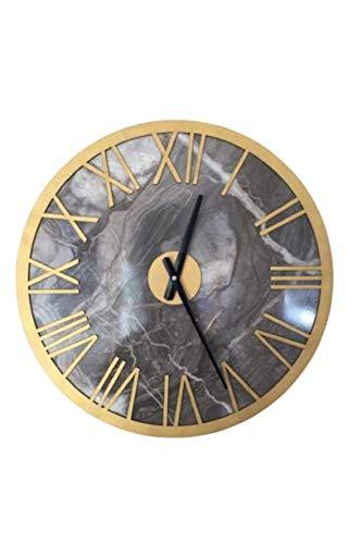 Reloj de pared Roma de oro 48 x 48 cm (18,8 x 18,8 pulgadas).