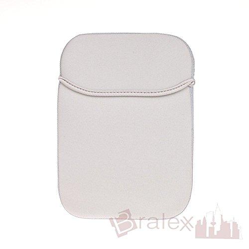 BRALEXX Universal Neopren 8 Zoll Tablet PC Hülle passend für Dell Venue 8 Pro 3G, Grau