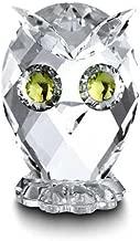 swarovski crystal miniature owl