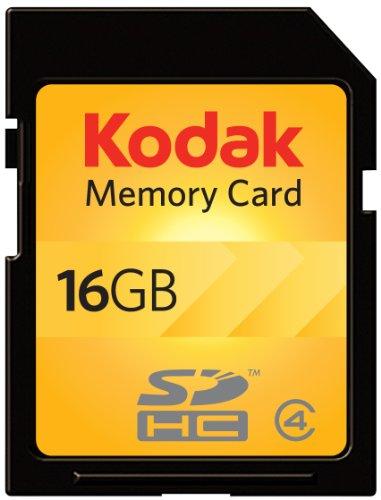 Kodak SDHC 16GB Class 4 Flash Memory Card KSD16GPSBNA