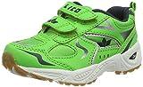 Lico Bob V, Zapatillas de Deporte Interior Unisex niños, Verde, Azul Marino, Blanco, Verde, Azul Marino y Blanco, 30 EU