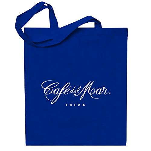 Café del Mar Classic White Logo Totebag