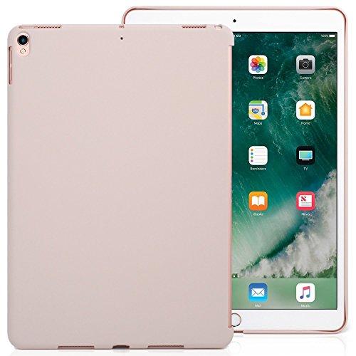 KHOMO Funda iPad Air 3 10.5 (2019) / iPad Pro 10.5 (2017) Carcasa Trasera Ultra Delgada y Ligera Compatible con Smart Cover - Arena Rosa
