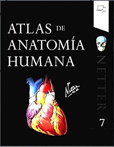 Atlas de anatomía humana: cuaderno de anatomia para colorear netter