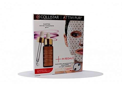 Collistar Collistar Attivi Pure Set Elastin Anti Age Recompatting+Micromagnetic Mask Collagen - 5 ml