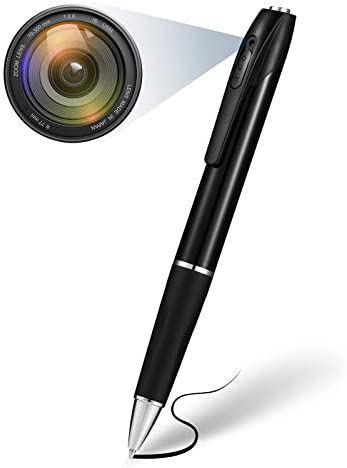 Spy Camera Pen 1080P Hidden Camera with 32GB Memory Card Spy Pen Camera with 150 Minutes Pen product image