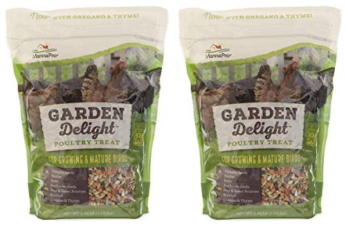 Manna Pro Garden Delight Poultry Treat, 2.25 lb (Pack of 2)