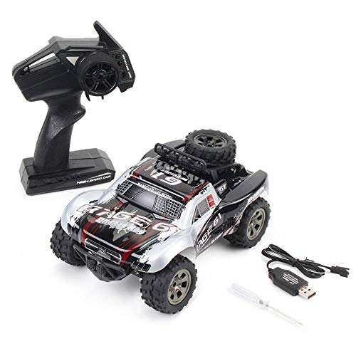 Poooc 6WD RC Black Off-Road Cars 1/12 Escala RTR Buggy Monster Truck...