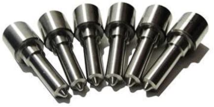 DieselTuff Performance Nozzle Set - compatible with Dodge Cummins 98.5-02 ISB 24V, 75HP - 150 HP 8 HOLE VCO (Stg 5 150HP)
