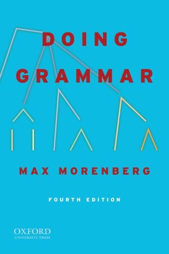 Doing Grammar: Fourth Edition