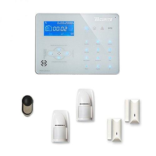 Alarme Maison sans Fil Ice-B 1 à 2 pièces Mouvement + Intrusion - Compatible Box Internet et GSM