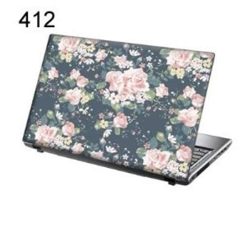 TaylorHe Laptop Skin Vinyl Sticker Tea Rose Romance for 15.6 inch Laptop (156-412leather