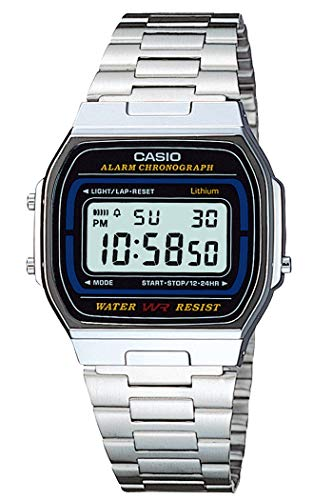Casio Collection Herren-Armbanduhr Digital Quarz A164WA-1VES