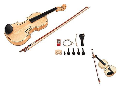 SUZUKI スズキ 手づくり楽器シリーズ バイオリンキット4/4 SVG-544