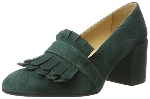 KMB Damen CAVE Pumps, Grün (Dark Green), 38 EU