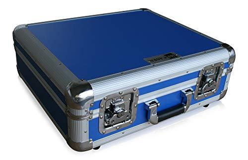 Platenspeler case voor Technics Turntable DJ Flightcase Rack Koffer blauw