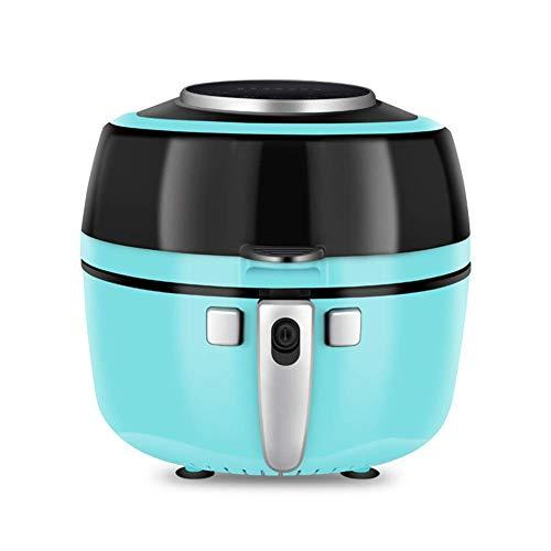 XYSQWZ Freidora De Aire Sin Aceite Freidora De Aire Que Utiliza Tecnología Fast Air para Cocinar Hornear Y Asar De Forma Saludable Plástico 1350 Vatios 10 litros Azul