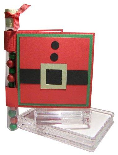 Santa Suit Test Tube Gift Card Holder Tutorial (English Edition)
