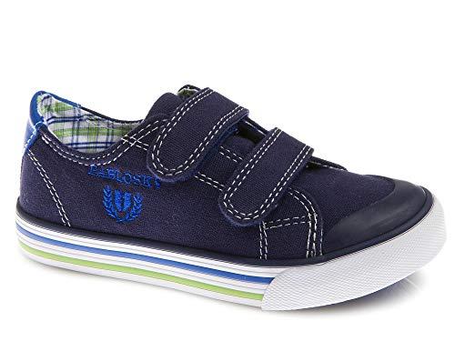 Zapatillas De Lona Niño Pablosky Azul 961821 30