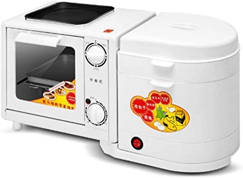 Lowest Prices! PUBUBU Multifunction Breakfast Machine Toaster Household Four In One Toaster Oven Ome...