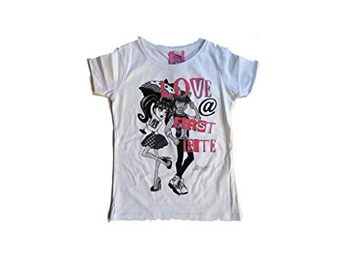 Monster High T-Shirt Love at first time weiß (146/152)