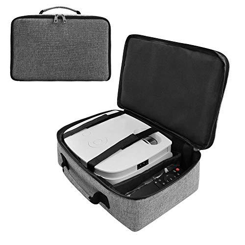 GROVIEW Beamer Tragetasche, Tragbare Reiseprojektor Tasche Für Mini Projektor und Zubehör (Passend Für Die Meisten Großen Mini Projektoren)