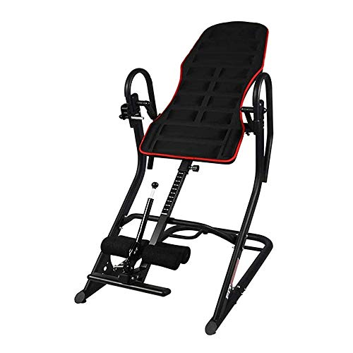 Check Out This ZDMSEJ Inversion Table Home Adjustable 180° Free Handstand Machine 3D Backrest Prote...