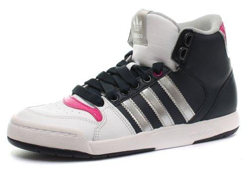 Adidas Originals Midiru Court Mid 2.0 W, Zapatillas de Estar por casa Mujer, Runwhite/Metsil/Legink, 38 2/3 EU
