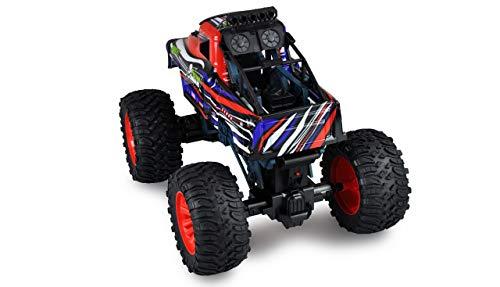 Amewi 22477 Red Command Big Monstertruck, 2WD, 1:10, RTR, ferngesteuertes Fahrzeug, Rot