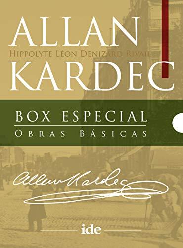 Box Obras Básicas Allan Kardec