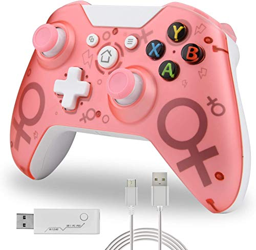 Wireless Controller for Xbox One, No Headset Jack, 2.4GHZ Game...