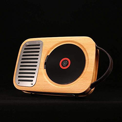 De enige goede kwaliteit Meubels Single Life Versie 2.0 Wandmontage CD Speler Retro Draadloze Bluetooth Draagbare Mini Speaker Draagbaar 24,7 cm * 16,5 cm * 5 cm Luister