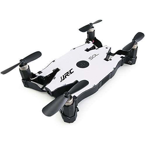 JJRC Lugia Global H49 SOL WiFi FPV Selfie Quadcopter Drone with 720P Camera Altitude Hold Mode RC Quadcopter with Camera (White)