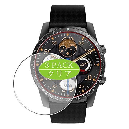 Vaxson 3 Stück Schutzfolie kompatibel mit Smartwatch smart Watch KW99, Displayschutzfolie Bildschirmschutz Blasenfreies TPU Folie [Nicht Panzerglas]