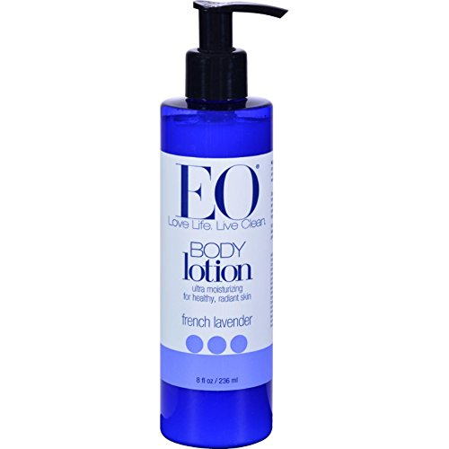 EO Products French Lavender Body Lotion, 8 Ounce - 6 per case.