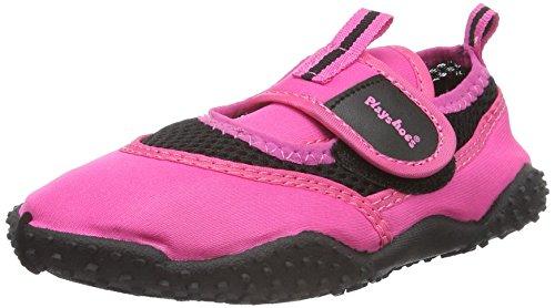 Playshoes Unisex-Kinder 801 174796 Aqua-Schuhe, Pink (pink 18), 24/25 EU