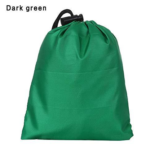 lakamier Anti - uv - 20-80l Rucksack passt farbige Kletter - Taschen regenhülle Werkzeug veranstalter Tasche wasserdichte Anti - tränen - Paket(Dark Green)