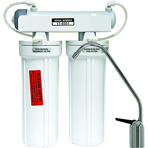 Watts 500320 3-Stage Undercounter Drinking Water Filter with Ultraviolet